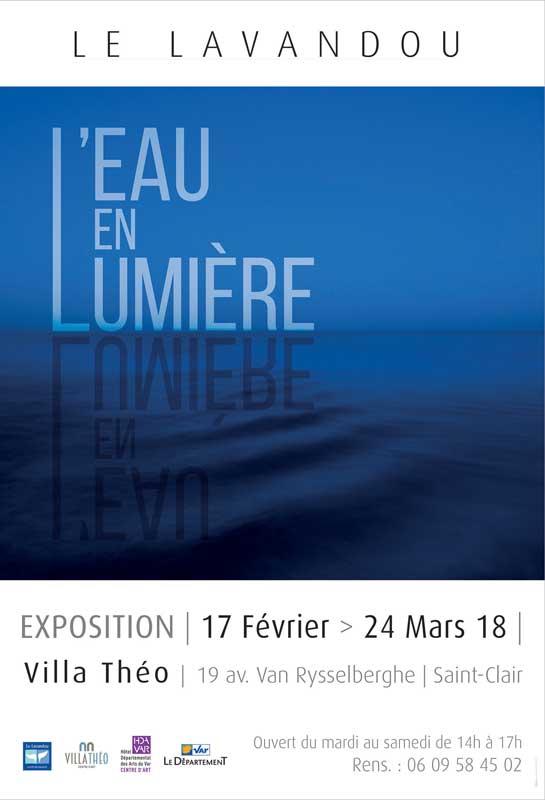 """""""L'eau en lumière"""", la nouvelle exposition présentée à la Villa Théo"""