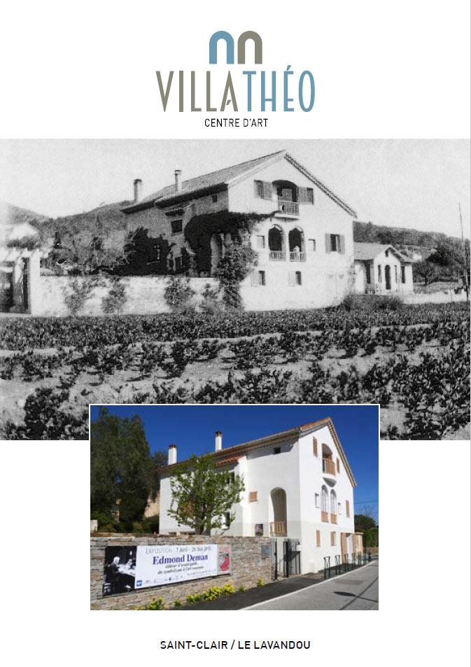 Plaquette historique de la Villa Théo