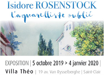 """Isidore Rosenstock, l'aquarelliste oublié"""